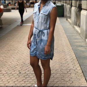 Calvin Klein Soft Ombré Denim Dress